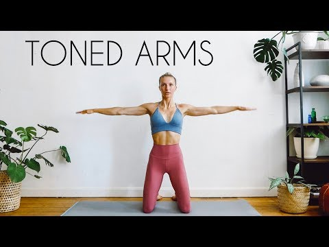 10 MIN TONED ARMS WORKOUT (At Home No Equipment)