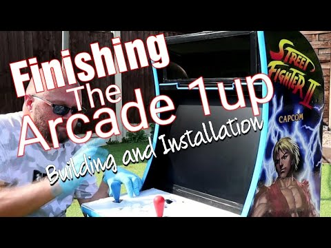 Part 15 finishing the build of the arcade cabinet from Just Boggy