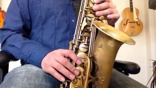 Esta Tarde Vi Llover Tutorial de Saxofon