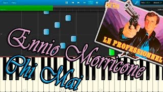 Ennio Morricone - Chi Mai (Le Professionnel / The Professional) [Piano Tutorial] Synthesia