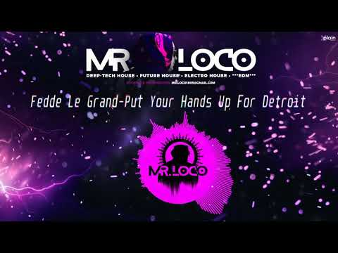 Fedde Le Grand-Put Your Hands Up For Detroit (Mr.Loco Rmx) (Visualizer)