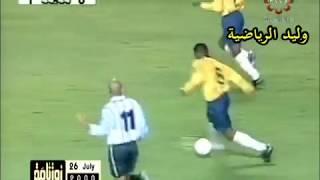 مباراة البرازيل 1/3 الأرجنتين ـ تصفيات  مونديال 2002 م تعليق عربي