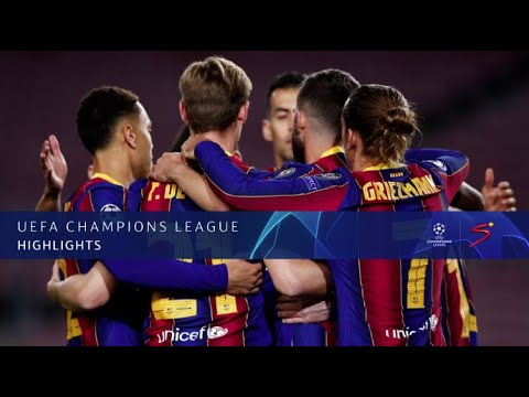 UEFA Champions League | Barcelona v Dynamo Kyiv | Highlights