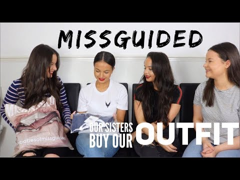 OUR TWIN SISTERS BUY OUR MISSGUIDED ORDER! (TRY ON) - AYSE AND ZELIHA