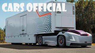 Self driving trucks • Volvo Truck • Autonomous Driving • Vera Truck Technology