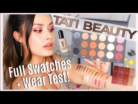 NEW IN BEAUTY: Tati Beauty Palette Swatches + Wear Test, Miracle Foundation, My VDL Collab thumbnail