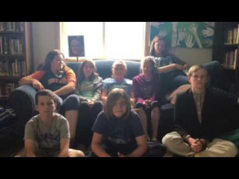 Honey Creek Middle School Students Express Gratitude