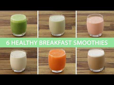 6 Easy Healthy Shakes Smoothies