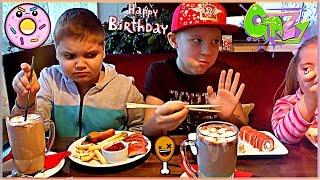 VLOG : ДЕНЬ РОЖДЕНИЕ ЭДВИНА 🍣 СУШИ 🍕ПИЦЦА 🍔 Гамбургер 💥 Birthday  Kids Fun Party RUSSIA