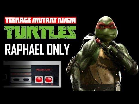 Teenage Mutant Ninja Turtles NES Raphael Only - No Deaths - NES Walkthrough Guide TMNT