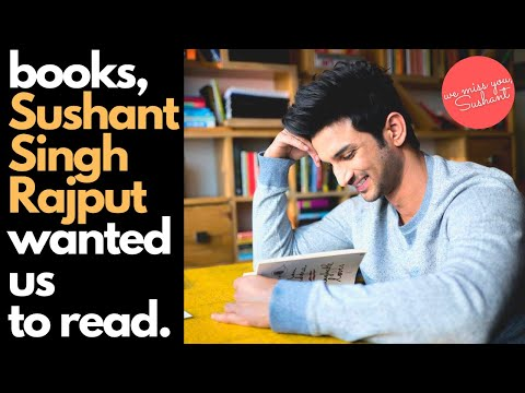Books that Sushant Singh Rajput wanted us to read || Sushant Singh Rajput's Book Recommendations