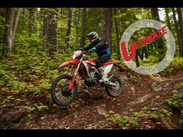 2019 Honda CRF450L First Ride Review | Ultimate Motorcycling