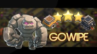 Town Hall 8 Three Stars Max TH9 - Gowipe! - War Clash of Clans