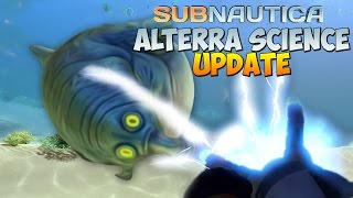 ГРАВИПУШКА в Subnautica #11 [Alterra Science Update]