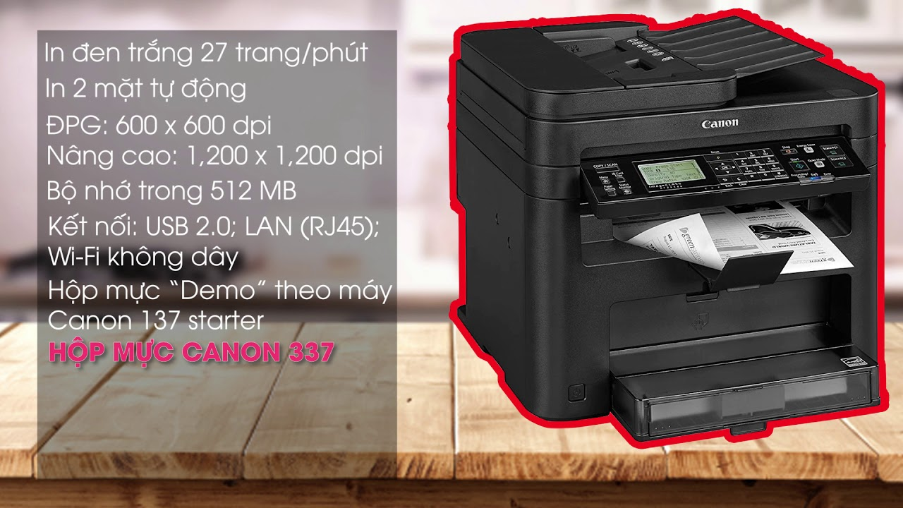Canon mf244dw printer review And Q n A section by UNBOXING OJ