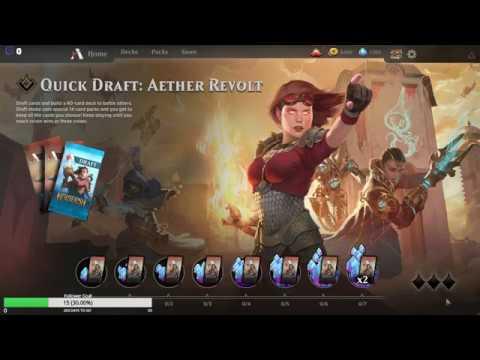 mtg arena draft matchmaking