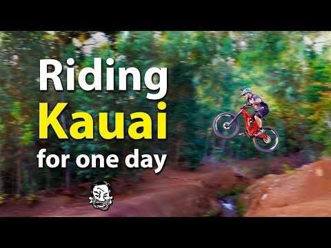 MTB riding in Hawaii for one day