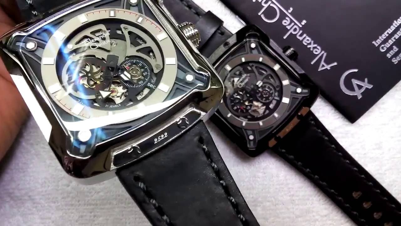 Jam Tangan Alexandre Christie AC 3030 MA Automatic Watches - YouTube 553d1e76d8