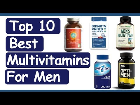 Best Multivitamins For Men 2020 II Top 10 Best Multivitamins For Men! Online Shop