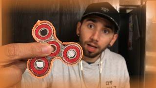 como hacer un fidget spinner super facil baybaeboy vlogs