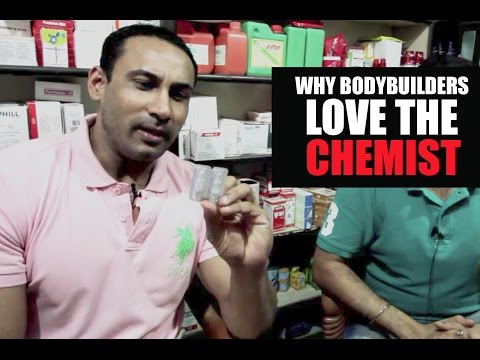 Why bodybuilders love chemists