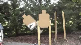 Homemade Swinging Target Stand