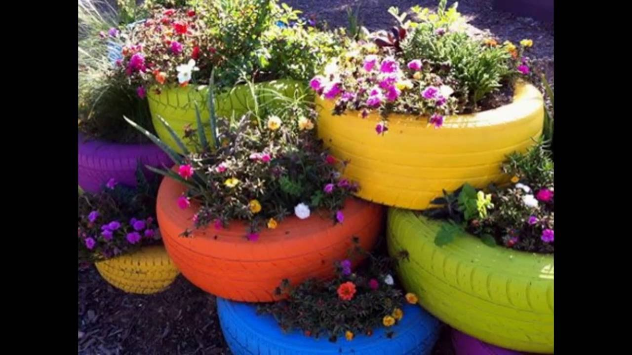 ideas para jardines peque os youtube