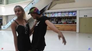 Patoranking - No Kissing Baby ft. Sarkodie official dance video