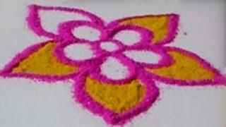 Special Rangoli Design 3