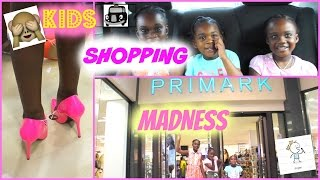 KIDS SHOPPING MADNESS (Primark Haul)