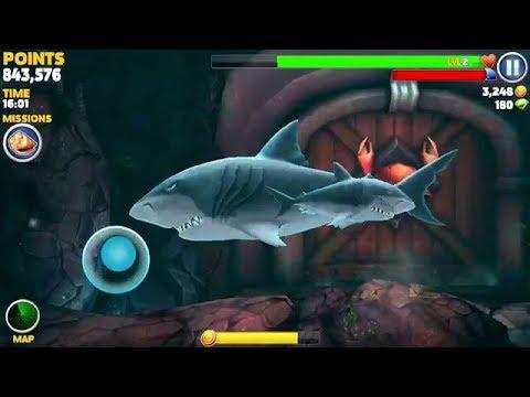 لعبة القرش الجديدة  - لعبة شارك ياكل السمك  - العاب موبيل جديدة