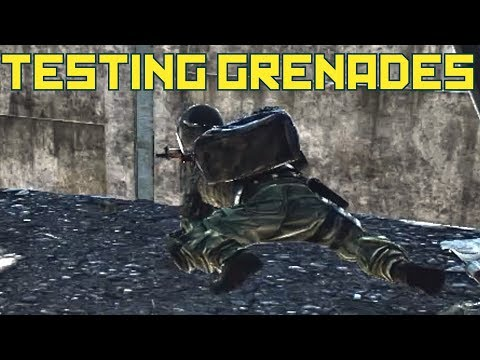 Testing Grenades, Can You Stomach A Grenade To Save Team? Escape From Tarkov