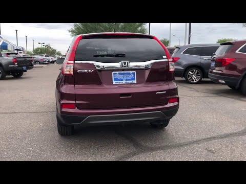 2016 Honda CR-V Phoenix, Scottsdale, Glendale, Mesa, Tempe, AZ 00828527