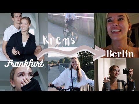 von Frankfurt nach Krems & Berlin VLOG//Hannah