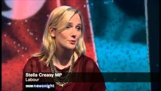 Stella Creasy & Toby Young on Newsnight: 30th July 2013