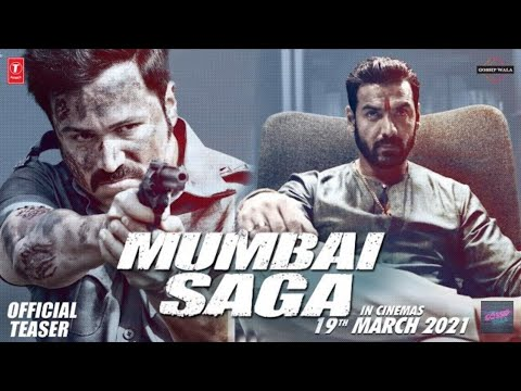 MUMBAI SAGA | Official trailer Emraan H Suniel S ,John A,Kajal A Mahesh M|Releazing 19 March