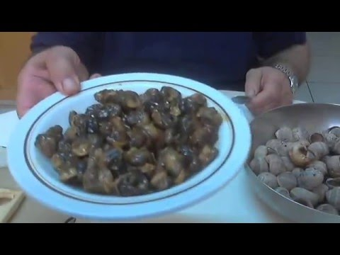 Escargots Bourguignon, by chef Andros Charalambous.