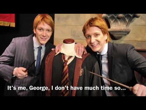 Dear Fred, from George ( emotional )