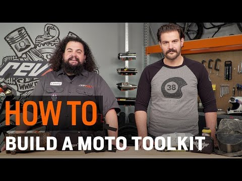 How To Build A Motorcycle Tool Kit At RevZilla.com