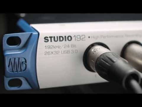 PreSonus—Introducing the Studio 192 recording interface