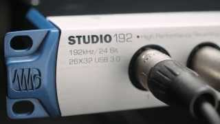 PreSonus Studio 192 — 26 x 32 USB 3.0 Audio Interface and Studio Command Center
