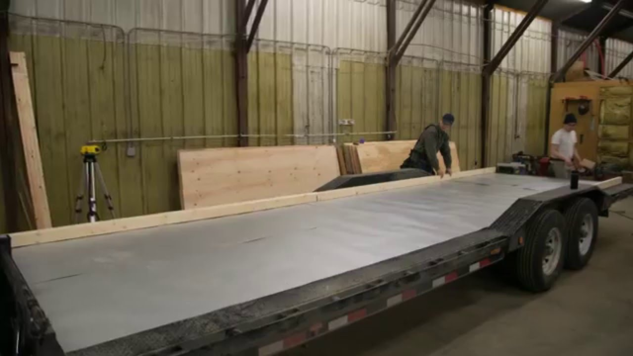How to build floor for tiny house on trailer ana white for How to build a floor for a house