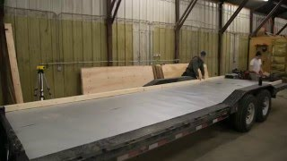 How To Build Floor For Tiny House On Trailer: Ana White Tiny House Build  Episode 2