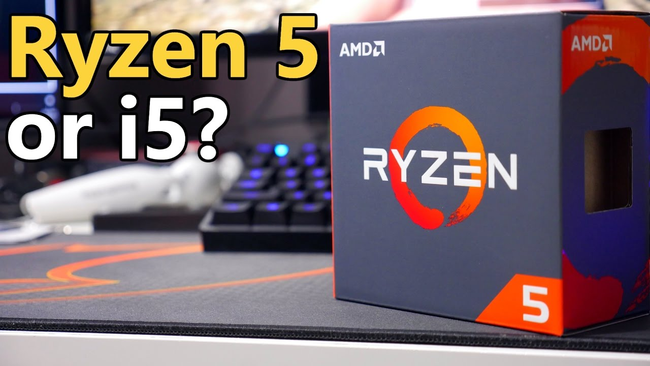 Ryzen 5 1600X vs i5 6600K | SAME CLOCK SPEEDS - YouTube