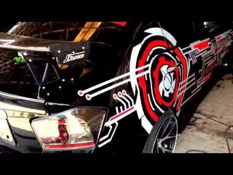 "SPL sedan 2 sub 12"" 150 db +   innovation Car Audio Jakarta"