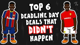 Deadline Day transfers that DIDN'T happen! ► OneFootball x 442oons