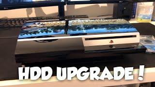 PS3 PHAT Hard Drive Upgrade Ready for Jailbreak!