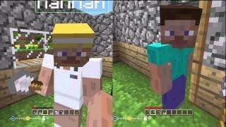 Minecraft: Xbox 360 Edition (Split-Screen) | Part 3 | SKELETAL NIGHTMARE