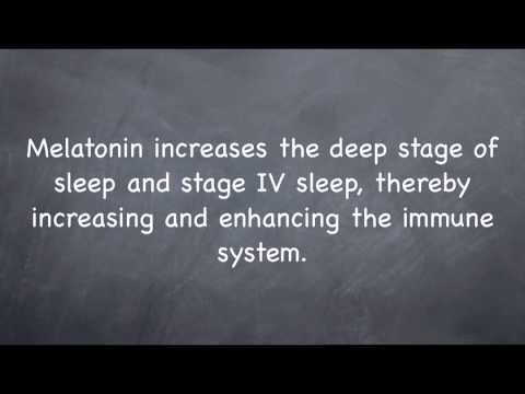 SAQ 7: What is melatonin and how will it benefit me?