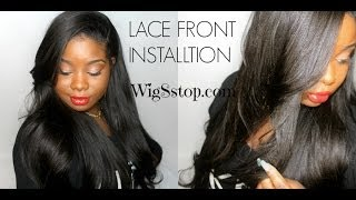 ♥ Install a Lace front wig EASY!!